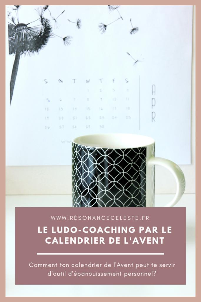 le calendrier d el'avent comme objet de ludo-coaching