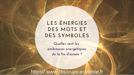 l'énergétique des mots et des symboles